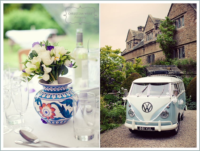 vintage summer wedding